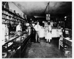 Frank and Flora McCoy in their General Store