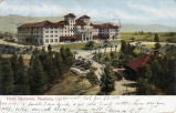 Postcard:  Second Raymond Hotel with its Gardens and Drives, ca. 1906