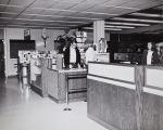 Check stand at Bookstore, Citrus College, 1964