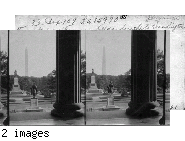 From Steps of Treasury Bldg., South to Washington Monument, Wash., D.C.
