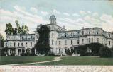 Postcard of Mills Hall
