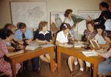 Natural Science class, Citrus Junior College, 1942