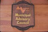 [Mission Viejo Municipal Advisory Council slide].