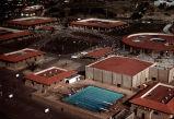 [Mission Viejo High School, circa 1971 aerial view slide].