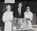 Presentation of Hulbirt Butterfly Collection, 1964