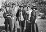 Upland Photograph People- Mr. and Mrs. Richard Gird and friends