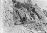 Road Construction Granite Spur, Main Road to Wishon Reservoir