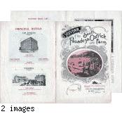 "Cawston Ostrich Farm Brochure: ""Souvenir of the South Pasadena Ostrich Farm"""