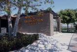 [Entrance to Mission Viejo Sierra Recreation Center slide].