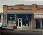 Photograph of Ray Pound's photography shop