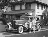 Family with Auburn Car