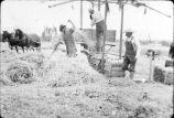 Hay baling near Keeler Ranch