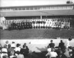 Graduation ceremony at the Conejo School