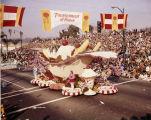Pasadena Tournament of Roses Parade--Arcadia Float, 1971
