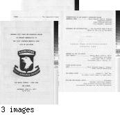 Program - presentation of memorabilia