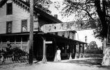 Dougherty Station Hotel (c.1920), photograph