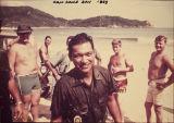 Tony Grey at Cam Ranh Bay, Vietnam