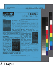 Hmong in the United States health brief