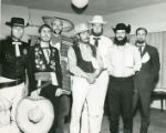 Stagecoach Days Celebration participants in costume in Banning, California