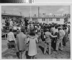 Photograph of community entertainment at Corregidor Park