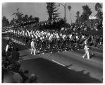 Pasadena Tournament of Roses Parade--Arcadia High School Apache Marching Band, 1966