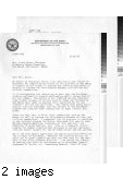 Letter from Army Public Information Office to L. (Giese) Patterson 10/13/71