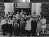 Portrait of Live Oak Elementary School in ca. 1920's