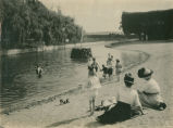 [Photograph of East Shore Park swimming pool]