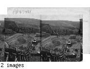 Irrigating Flume, Natches Canal, Yakima Valley. Wash.