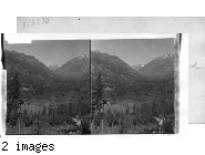 In the Heart of the Cascades, Head of Lake Chelan. Washington -