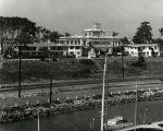 John D. Spreckels mansion after it became the Glorietta Bay Inn, Coronado, c. 1960.