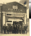South Pasadena Police Department in front of Station, ca 1933