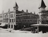Photograph of the Rossmore Hotel and Orange County Herald
