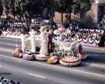 Pasadena Tournament of Roses Parade--Arcadia Float, 1986