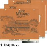 [New Madrid, Casa Sandia, plan 640 floor plan and exterior renderings brochure].