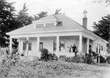 Jacob Hansen ranch home, (c. 1914), photograph