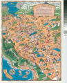Delightful Santa Clara County Cartoon Map