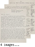 Letter from [Paul H. Kusuda] to [Afton] Nance, 1942 Nov 26