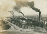 [Photograph of the Standard Oil Refinery A]