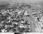 Aerial View - B Street Looking North