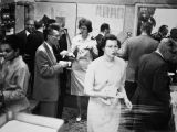 1962 Christmas Party general mingling