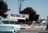 Old Hollywood Park Race Track sign