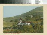 Postcard of Notre Dame Villa, Saratoga, California