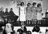 Murray School graduation exercise, (June 14, 1950), photograph