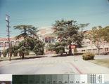 Side View of San Mateo High School