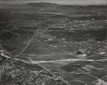 Aerial photo. The northwest corner of Beaumont is in the lower left of the photo.