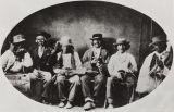 Chumash musicians at Mission San Buenaventura : 1873.