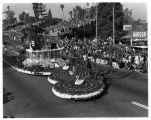 Pasadena Tournament of Roses Parade--Arcadia Float, 1961