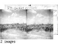 From roof of the Register of the Treasury Bldg. on Delaware between 1st & 2nd, N.E. to Union Depot, P.O. at extreme left, Wash. D.C.