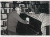 Photograph of Conlon Nancarrow, composer